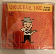 Ukulele Ike Sings Again CD Rare OOP New sealed Cliff Edwards