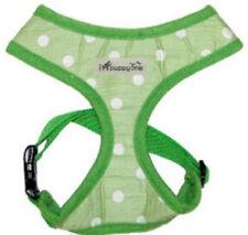 Dog Puppy Soft Harness - iPuppyOne - Polka Dot - Morning Dew Green - Small
