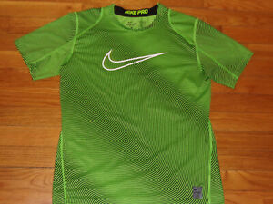 NEW NIKE PRO DRI-FIT SHORT SLEEVE FITTED JERSEY BOYS X-LARGE