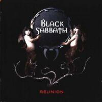 BLACK SABBATH - REUNION 2 CD 18 TRACKS HEAVY ROCK / DOOM METAL NEUF