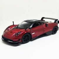 "New Kinsmart 5"" Pagani Huayra BC Diecast Model Toy Sports Super Car 1:38- Red"