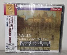 CD I SOLISTI ITALIANI - ANTONIO VIVALDI - VIOLIN CONCERTO OP. 6 - JAPAN - COCO 7