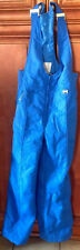 PROFILE Medium Blue Snowboard SKI SUIT Bib Overall Pants Snowsuit - Hertha Amen