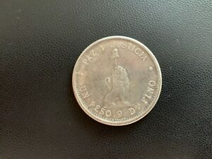 Paraguay One Peso 1889