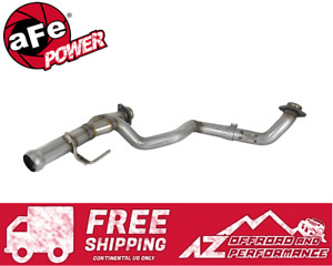 aFe Power Exhaust System Twisted Steel Y-Pipe for 18-20 Jeep Wrangler JL / JLU