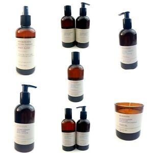 Pecksniffs Aromatherapy |Body Lotion ,Bath Soak DeStress Detox Deep Sleep candle