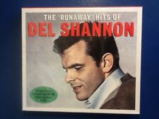 DEL. SHANNON.         THE. RUNAWAY. HITS. OF. DEL. SHANNON.      TWO DISCS.