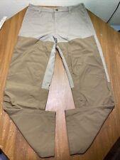 "Cabelas Men's Tan Brush Upland Dry Plus Hunting Pants Size 34 Reg X31"""