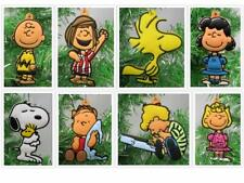Charlie Brown Christmas Ornament 8 Piece Set Featuring Peppermint Patty, Snoopy,
