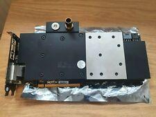 XFX AMD Radeon R9 290X 4GB con EK bloque de agua y la placa trasera