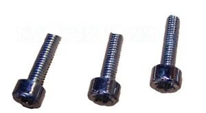 COMPATIBLE STIHL 024 MS240 026 MS260 SET OF 3 SCREWS FOR STARTER COVER