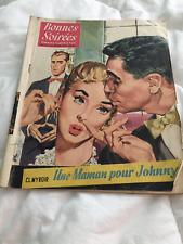 revue Bonnes Soirées N°1672 février 1954 Sylvie Martial,Ruth Roman Gerald Forton