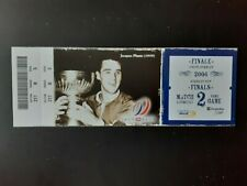 2006 Hockey Playoffs Ticket Stubs Montreal Canadiens JACQUES PLANTE
