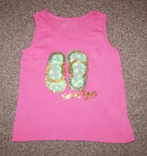 Girls Pink Sleeveless top, Size: 3-4 years