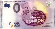 30 UZES Musée du bonbon Haribo, 2015, Billet 0 Euro Souvenir