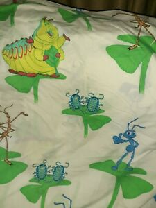 Disney A Bug's  Life 90's Twin Flat Sheet  Vintage Craft Fabric