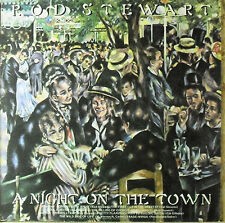 Rod  Stewart - A night on the Town - LP - washed - cleaned - L4610