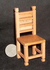 """Dollhouse Miniature Mexican Hacienda Dining Chair Furniture 1:12 @3.5""""T MAF2222"""