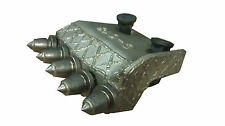 """Pengo Style 18"""" Bullet Shank Plate with Bolts Nuts and Carbide Rock Teeth"""