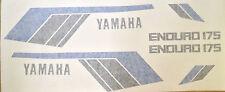 Yamaha DT175MX 1979 Pintura DECAL set