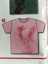 Pokemon Center TIME Limited Eevee COLLECTION T-SHIRT #9 Sylveon Free Size