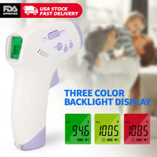 Infrared Thermometer Digital LED Forehead No-Touch Body Adult Temperature ℉/℃ US
