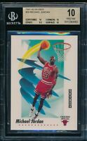 BGS 10 PRISTINE MICHAEL JORDAN 1991-92 91-92 Skybox Chicago Bulls HOF RARE GOAT