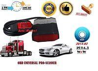 2014 R2 CAR TRUCK AUTO DIAGNOSTIC OBD SCANNER SOFTWARE BEST TOOL IN UK