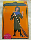 WITCH GIRL COSTUME MEDIUM 7 8 HALLOWEEN RE-SHIPPING CO. BIDS WILL BE CANCELLED