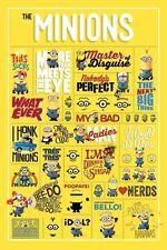 """Despicable Me Minions Info graphic - Maxi Poster - 24"""" x 36"""""""