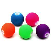 20 Perles en acrylique 8mm Fluo Mixte, effet caoutchouc Creation Bijoux, Collier