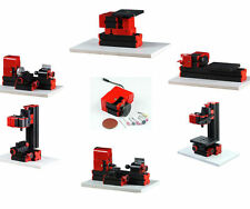 Mini 7 In 1 Wood Machine Kit Lathe Woodworking DIY Model Tools Educational Gift