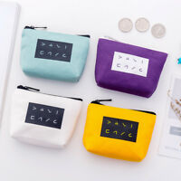 Eg _ Giapponese Donna Tela Portamonete Zip Mini Portafogli Porta Carte Pochette