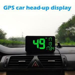 Full Screen 6.2'' Car GPS HUD Head Up Display Over Speed Warning Speedometer