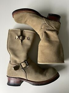 LONE WOLF BOOTS CAT'S PAW SOLE ENGINEER JAPAN BOOTS Size 9