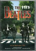 The Beatles DVD Live In Washington 1964 Brand New Sealed
