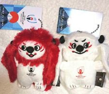 Rugby World Cup 2019 Mascot Keychain World In Union Rengie 2 Piece Set Rwc 2019