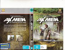 Ax Men-2008-TV Series USA-Complete season Three--4 Disc-DVD