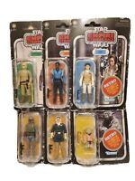 NEW!! Star Wars Retro Collection Empire Strikes Back BOBA FETT YODA Lot Set of 6