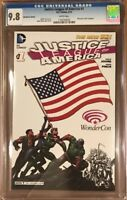 The New 52 Justice League Of America #1 Wondercon Variant CGC 9.8