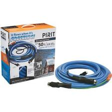 """Heated 50 Ft 180 W/120V 5/8"""" Water Hose W/Thermostat & W/6 Ft Elec. Cord H50"""