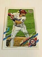 2021 Topps Baseball Base Card #203 - Trea Turner - Washington Nationals