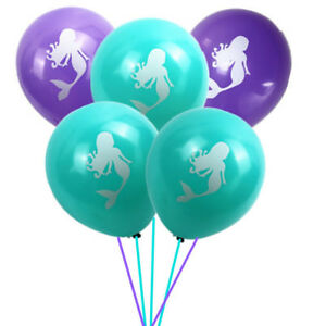Mermaid Balloons 20 Pack Party Decorations