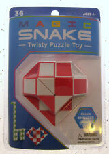 Magic Snake Twisty Puzzle Nostalgic Toy Create Endless Shapes