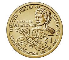 2020-P&D Native American Dollar Coins ( Elizabeth Peratrovich )