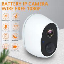 Wireless 1080P WiFi Outdoor IP Camera Security CCTV Battery Waterproof IR Cam US