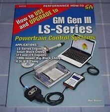 Chevy GM Gen III LS Series Engine Control System Book Manual LS1 LS4 4.3L Block.