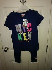 Girls Mickey Mouse Disney Outfit Age 9-10