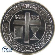 Polierte Platte österreichische Münzen Vor Euro Einführung Aus