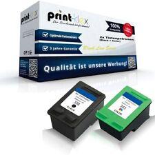 2x premium cartuchos de tinta para HP Photosmart-c-3180 Photosmart-Black Line serie
